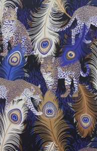 Matthew Williamson at Osborne & Little - Cubana - Leopardo W6805-01