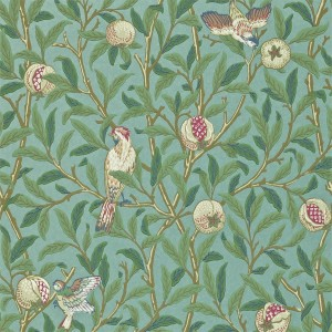 Morris & Co - Archive Wallpapers II - Bird & Pomegranate 212538