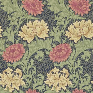 Morris & Co - Archive Wallpapers II - Chrysanthemum 212549