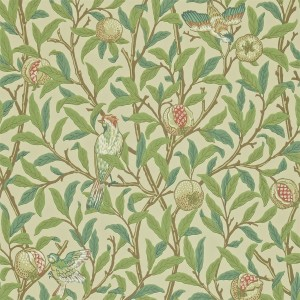 Morris & Co - Archive Wallpapers II - Bird & Pomegranate 212539