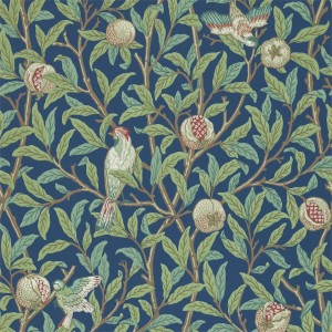 Morris & Co - Archive Wallpapers II - Bird & Pomegranate 212540